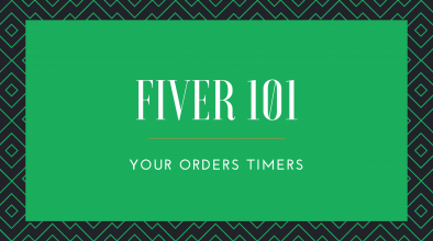 Order Timers