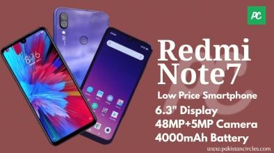 Redmi Note7 specs