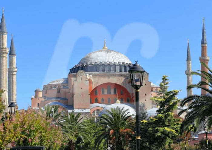 Hagia Sophia or Aya Sofia Mosque