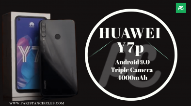 Huawei Y7p Specification