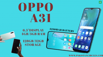 Oppo A31 specification