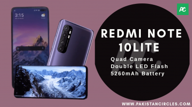 Redmi Note10 Lite Specification