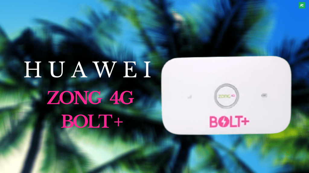 Zong 4G Bolt+ Devices Huawei
