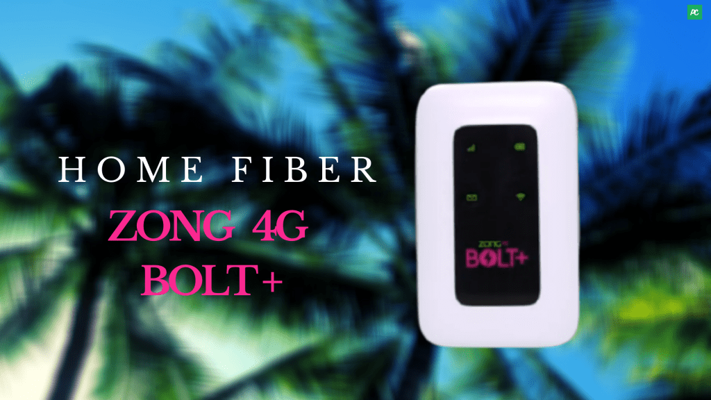 Zong 4G Bolt+ Devices  Fiber Home Device