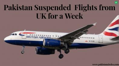 Pakistan Suspended Flights From UK.