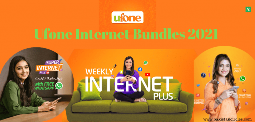 Ufone Internet Bundles 2021