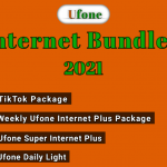 ufone Internet Bundles 2021