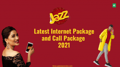 Jazz internet package and call package 2021