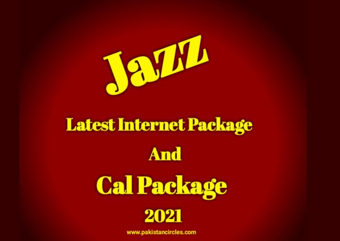 Jazz latest Internet Package 2021