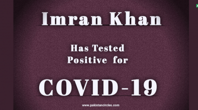 Imran Khan has Tested Positive for Covid-19