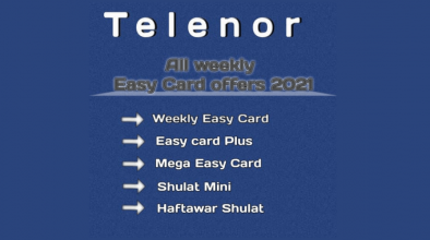 Telenor all Weekly Easy Card Offers