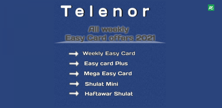 telenor all weekly easy card offers 2021  pakistan circles