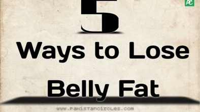 5ways to lose belly fat
